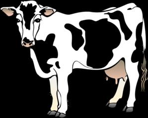298x237 Dairy Cow Clip Art