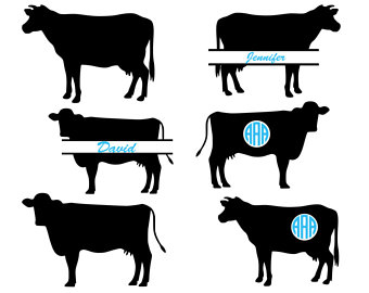 340x270 Cow Svg Farm Svg Calf With Tag Svg Kids Svg Cow Shirt Cow