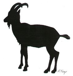 236x247 Goat Silhouette Clip Art. Download Free Versions Of The Image
