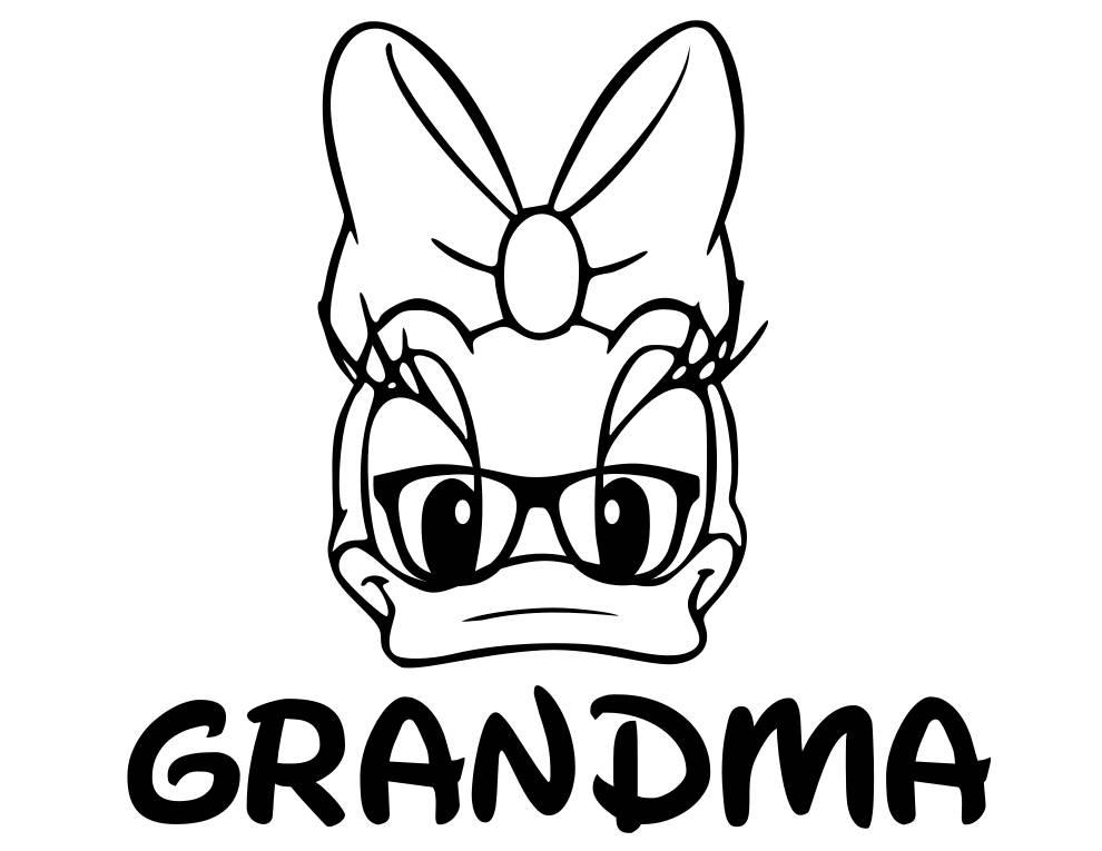 990x765 Grandpa Donald Duck And Grandma Daisy Duck