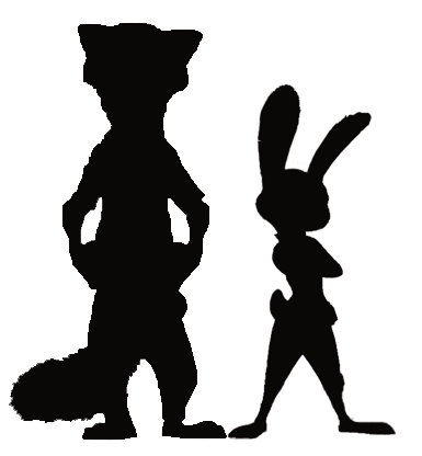 385x416 Image Result For Nick Wilde Silhouette Disney T Shirt