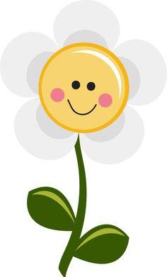 236x391 Smiling Daisy Clipart
