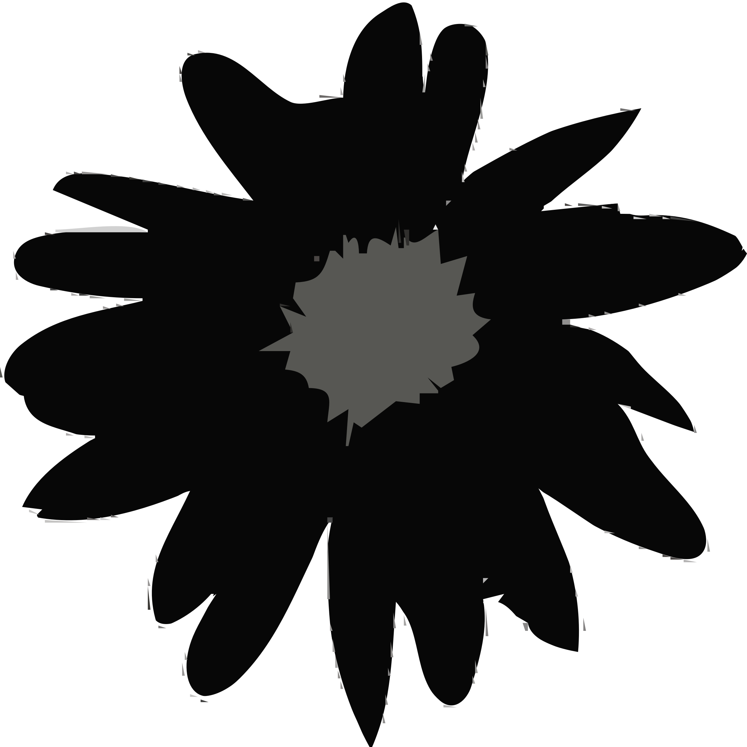 2400x2400 Ireland Daisy Silhouette Icons Png