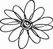 Daisy Silhouette Clip Art