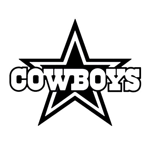 Dallas Cowboys Silhouette