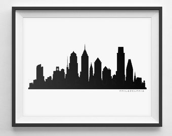 340x270 Dallas Skyline Silhouette Printable Skyline Dallas