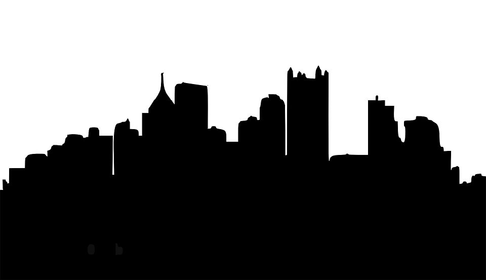 960x553 Skyline Clipart City Light