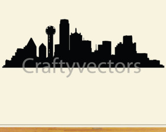 340x270 Dallas Skyline Etsy
