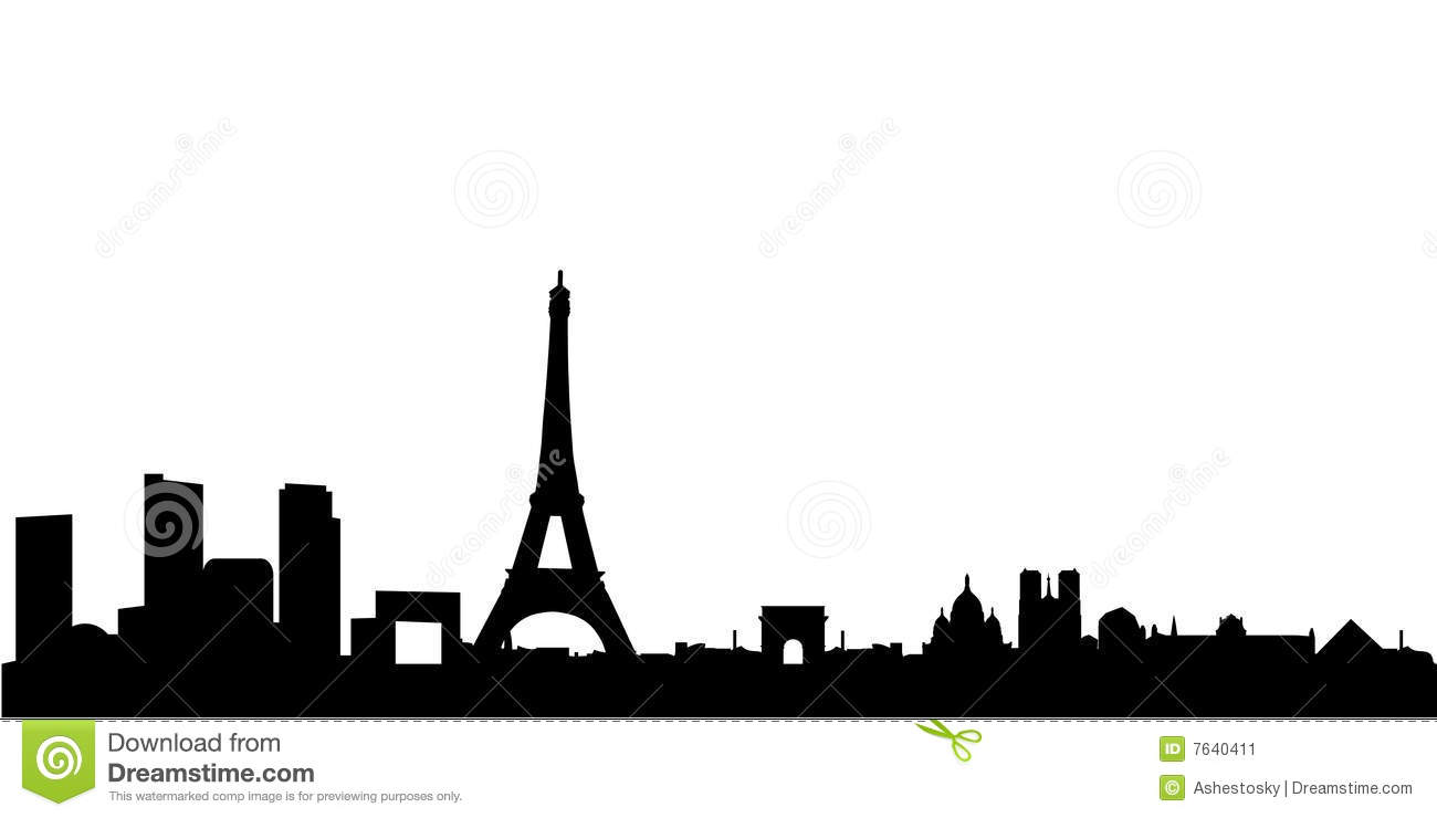 1300x740 Eiffel Tower Clipart Skyline