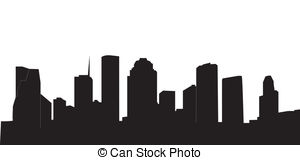300x160 Houston Skyline Clipart Vector Graphics. 161 Houston Skyline Eps