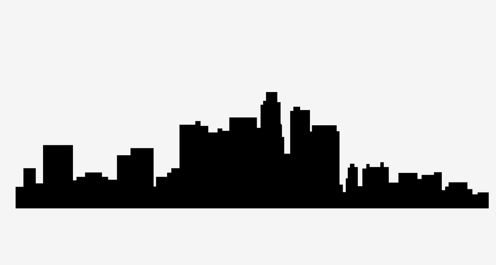 1600x855 Skyline Clipart Los Angeles