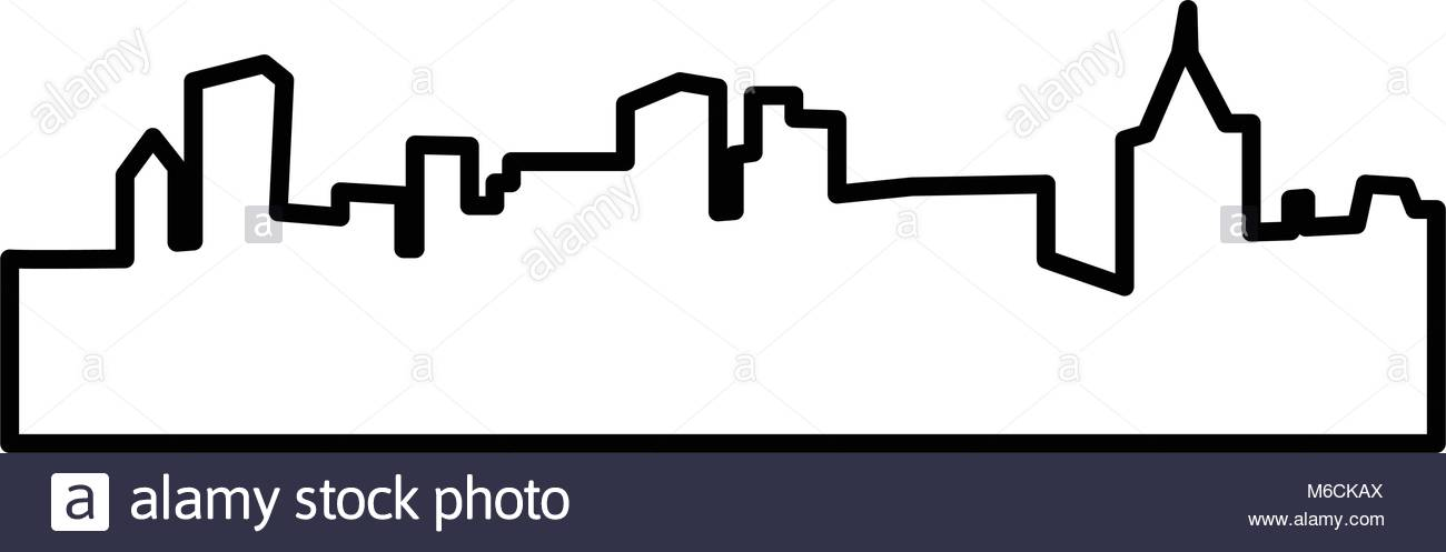 1300x497 Pittsburgh Skyline Stock Vector Images