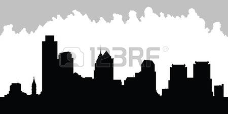 450x225 Skyline Clipart Philadelphia City