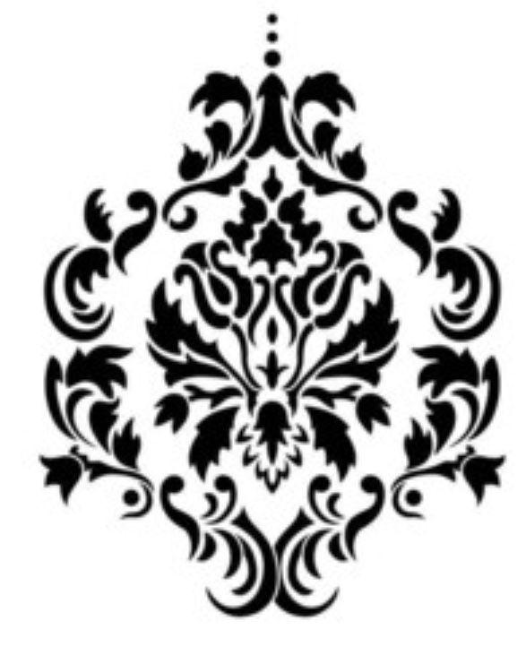 587x741 Pin By Leslie Krusinski On Damask Art Patterns