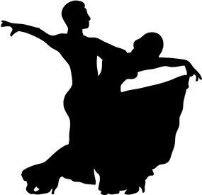 Dance Couple Silhouette