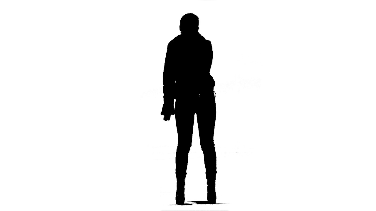 Dance Girl Silhouette