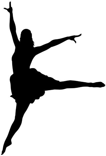 408x600 Dancer Silhouette Dance Dancer Silhouette, Dancers