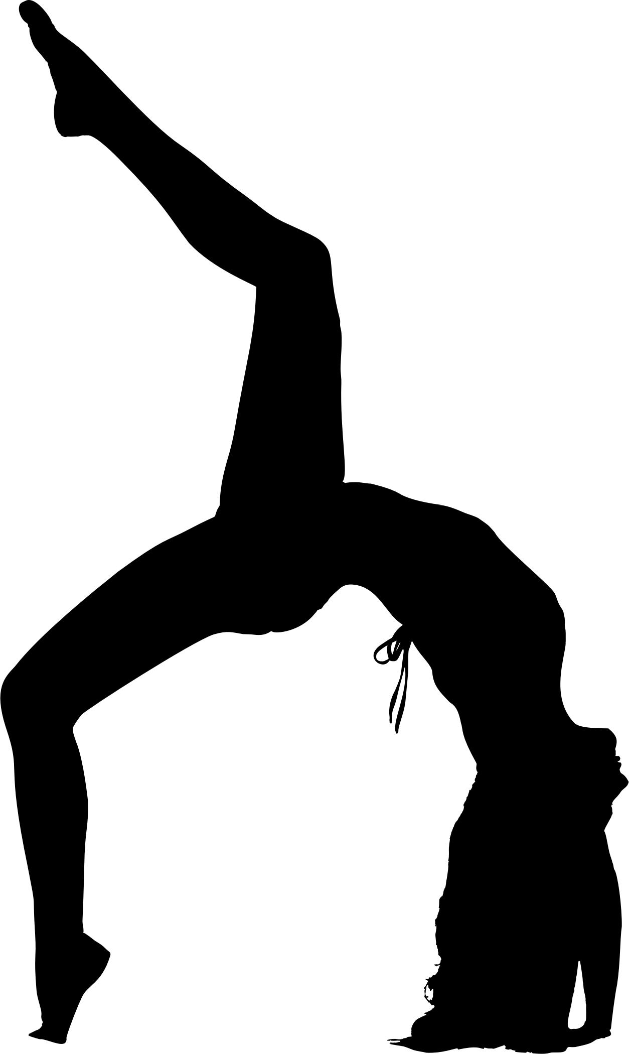1254x2100 Female Yoga Pose Silhouette 10 Icons Png