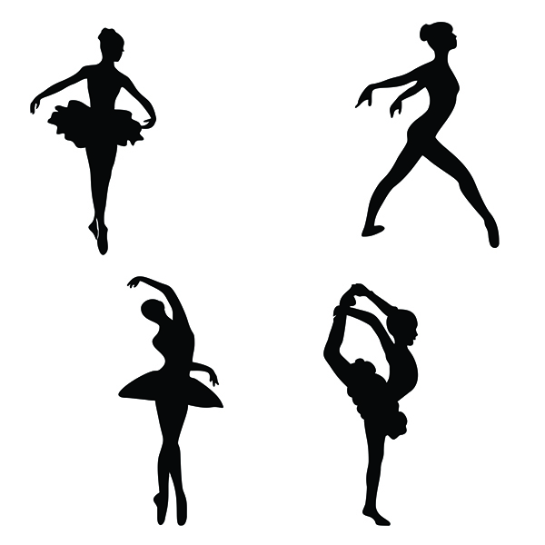 Dance Shoes Silhouette