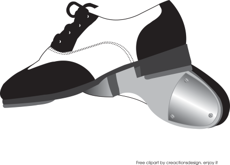 450x324 Tap Dance Shoes Clipart Pretty Looking