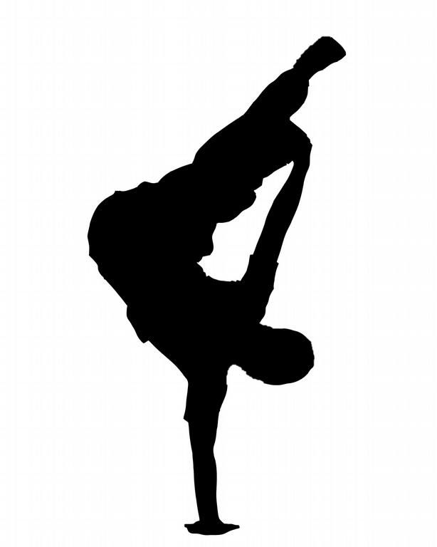 614x768 B Boy Silhouette. Phine Art, Design, And Collectibles