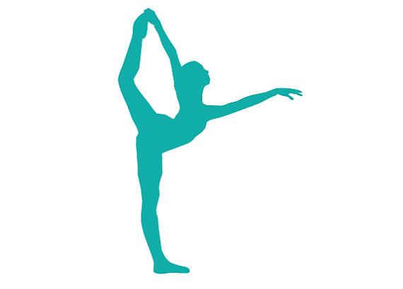 570x409 Dancer Silhouette Color Clipart