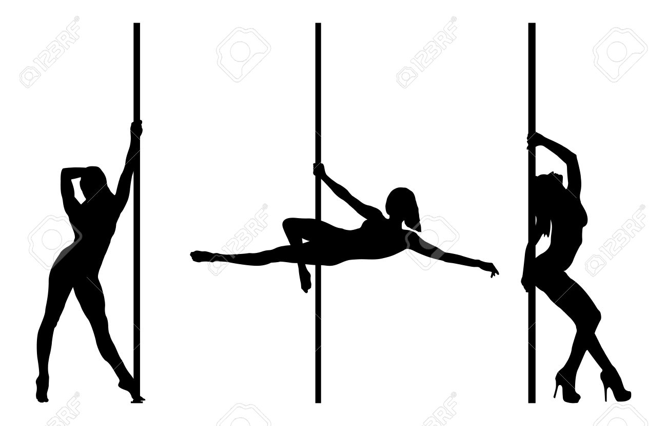 1300x832 Dancer Silhouette Clipart