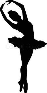 163x320 Ballet Dancer Clipart Silhouette Clipart Panda