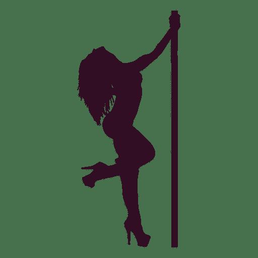 512x512 Woman Erotic Dance Silhouette