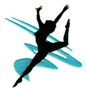 dance silhouette images at getdrawings com free for personal use rh getdrawings com dance drill team clipart