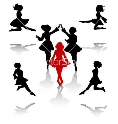 380x400 Irish Dance Vector On Reel Girls Dance