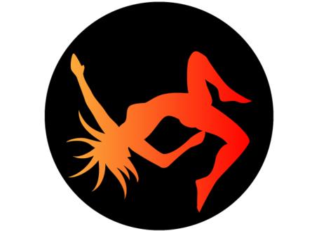 455x330 Dancer Silhouette Clip Art Free, Vector Files
