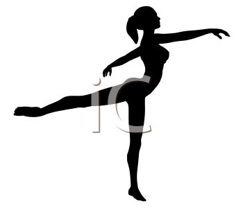 350x300 Silhouette Of A Young Ballet Dancer