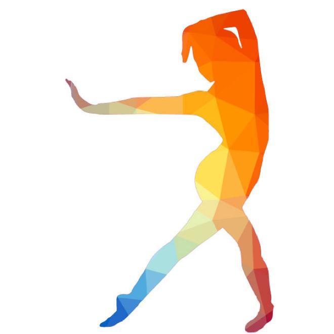 660x660 Dancer Silhouette Vector Image