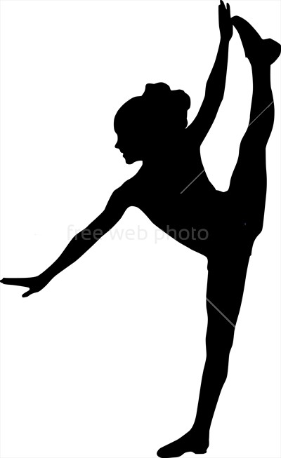 400x653 Dancing Silhouette Child Photo 3786 Download