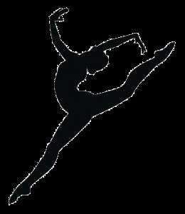 Dancer Silhouette Arabesque