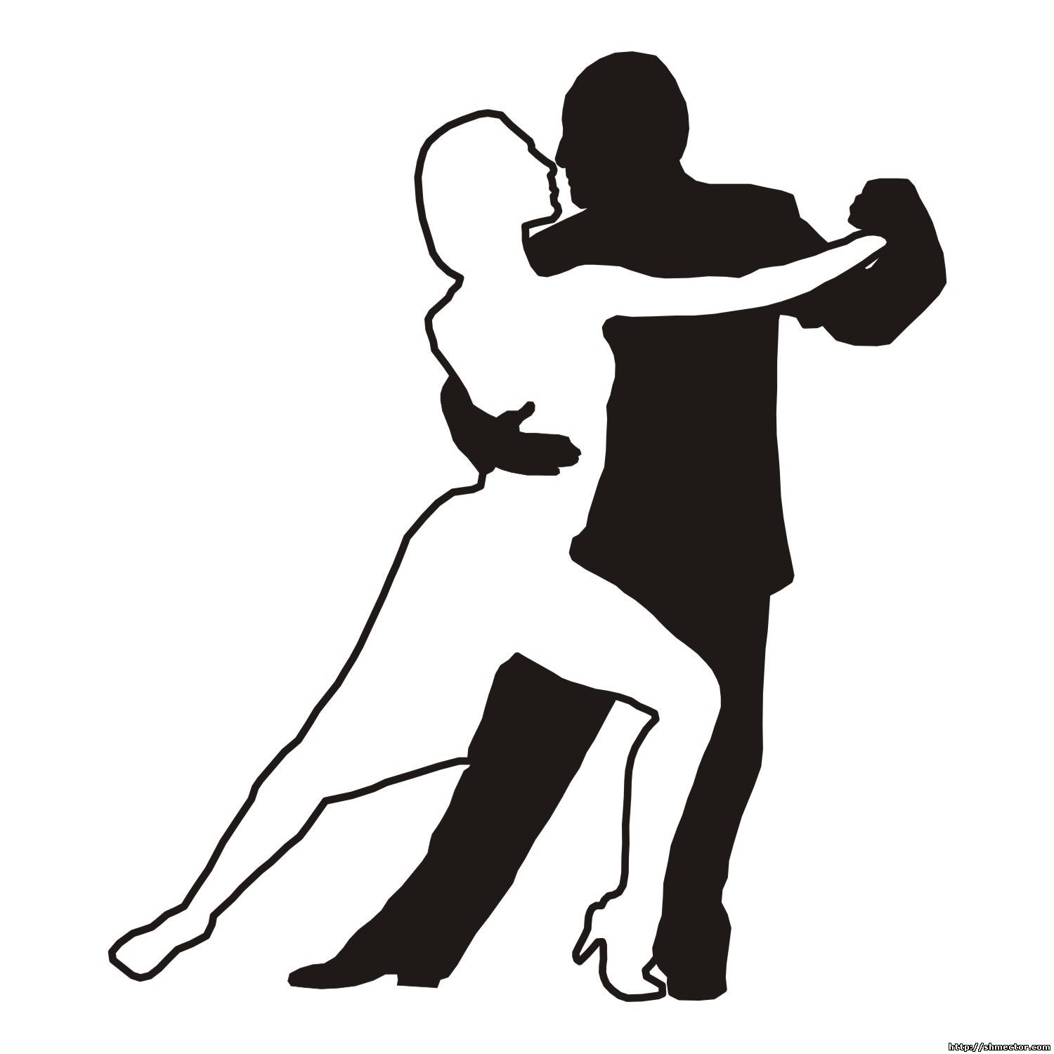Dancer Silhouette Clipart