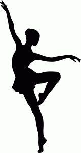 160x300 Dancer Silhouette 101 Clip Art