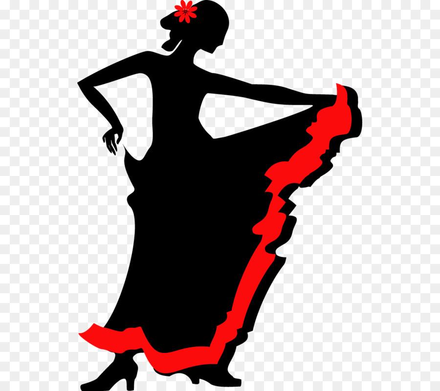 900x800 Flamenco Dance Silhouette Clip Art