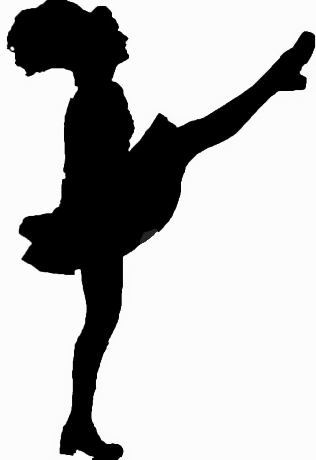 1008x1466 Irish Dancer Silhouette Clip Art