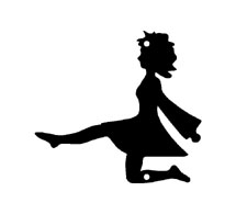 215x195 Irish Dancer Silhouette Clip Art 839703