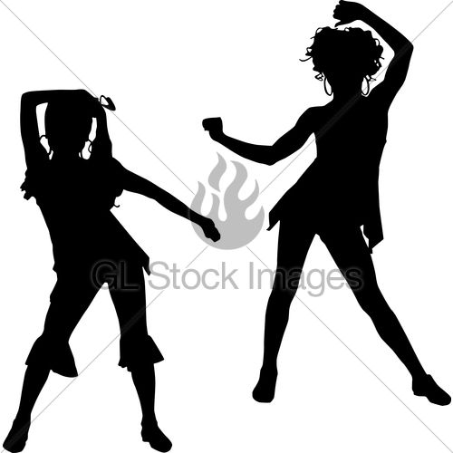 Dancer Silhouette Hip Hop