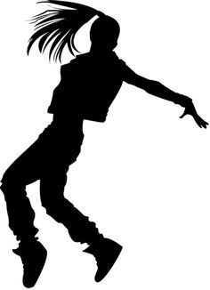 236x326 Girl Hip Hop Dancer Sketch
