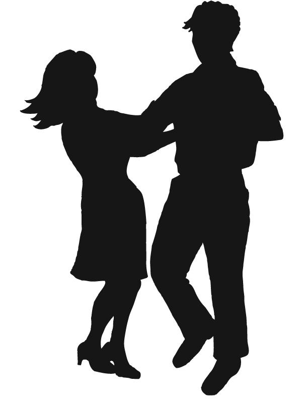 612x792 Interracial Dance Cliparts 224482