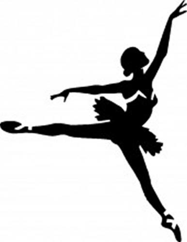 386x500 Tag Adhesive Stencil Ballerina Glitter Tattoos Airbrush Tattoos