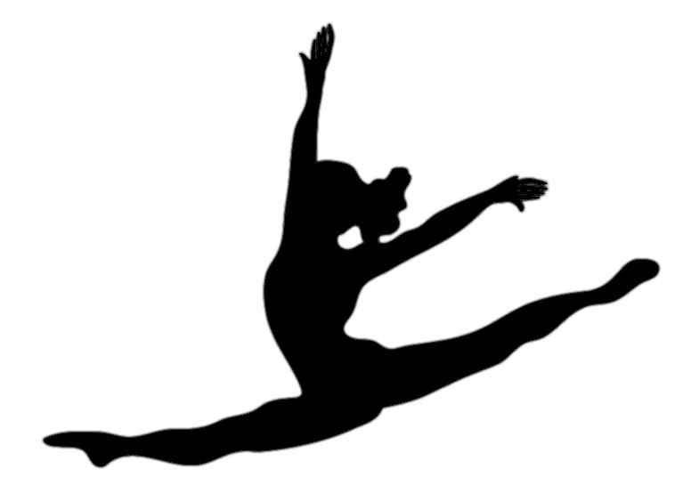 767x536 Silhouette Dancer Tattoos Clipart Library