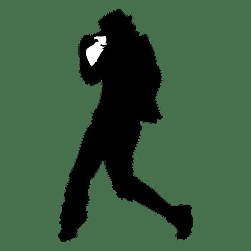512x512 Boy Break Dancing Silhouette
