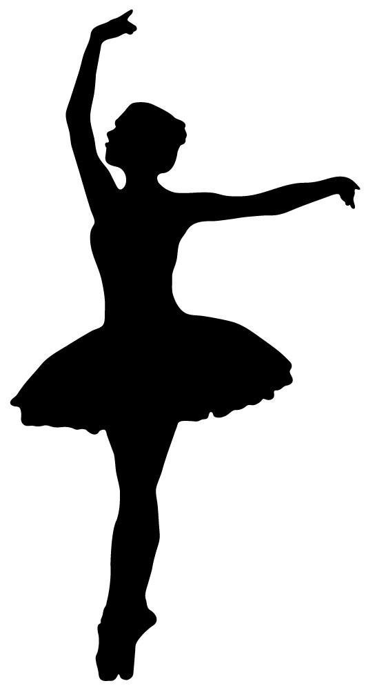 531x1000 Sweet Silhouettes Of Ballet Dancers