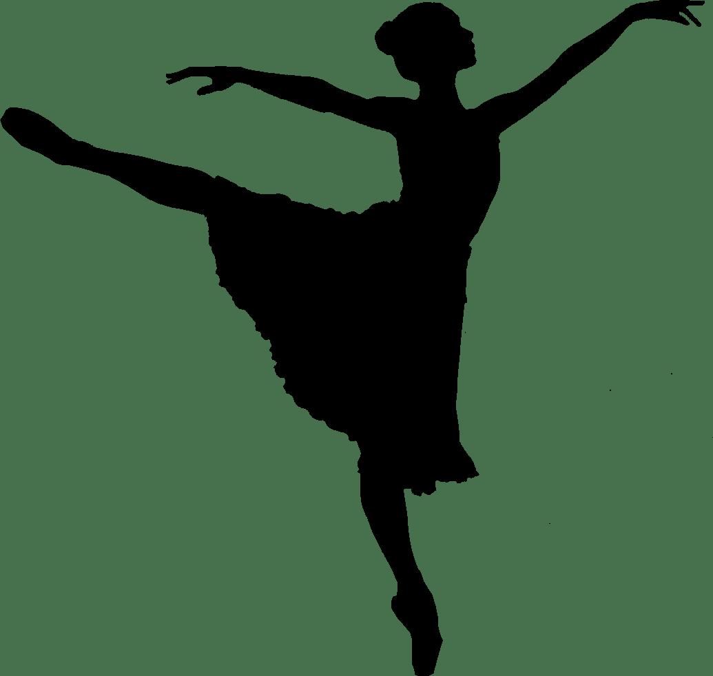 1035x982 Ballet Dancer Silhouette Transparent Png