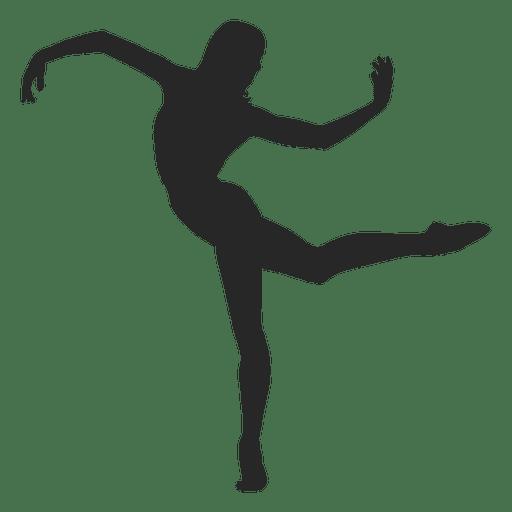 512x512 Ballet Dancer Silhouette